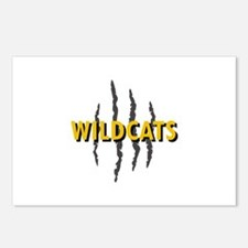 WILDCATS CLAW MARKS Postcards (Package of 8)