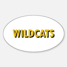 WILDCATS TEXT Decal