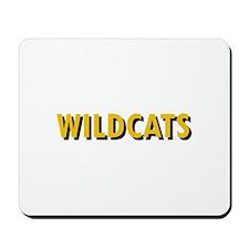 WILDCATS TEXT Mousepad