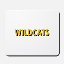 WILDCATS TEXT Mousepad