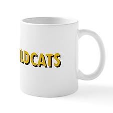 WILDCATS TEXT Mugs