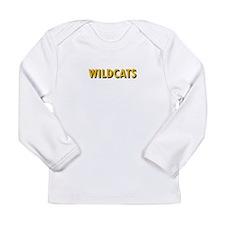 WILDCATS TEXT Long Sleeve T-Shirt