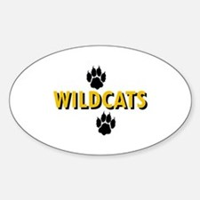 WILDCATS AND PAWS Decal