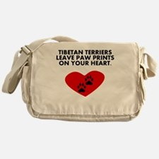 Tibetan Terriers Leave Paw Prints On Your Heart Me