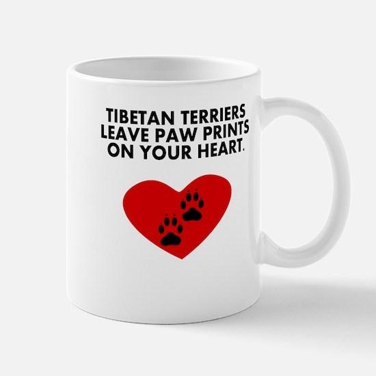 Tibetan Terriers Leave Paw Prints On Your Heart Mu
