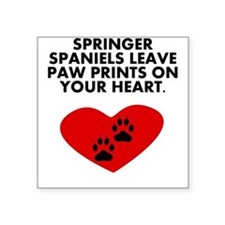 Springer Spaniels Leave Paw Prints On Your Heart S
