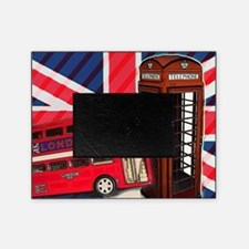 telephone booth london bus Picture Frame