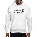 Spook When Spooken To Hooded Sweatshirt