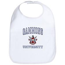 GAMMONS University Bib