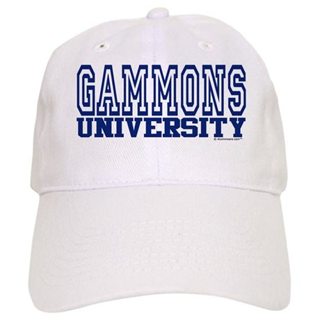 GAMMONS University Cap