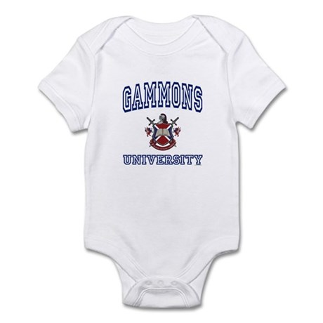 GAMMONS University Infant Bodysuit