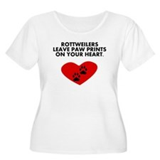 Rottweilers Leave Paw Prints On Your Heart Plus Si