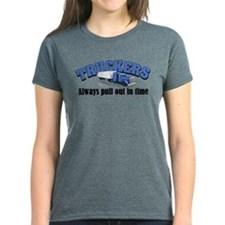 Truckers Pull Out in Time Tee