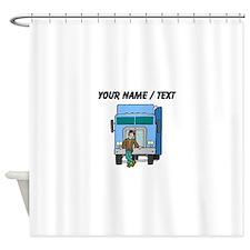 Truck Driver (Custom) Shower Curtain