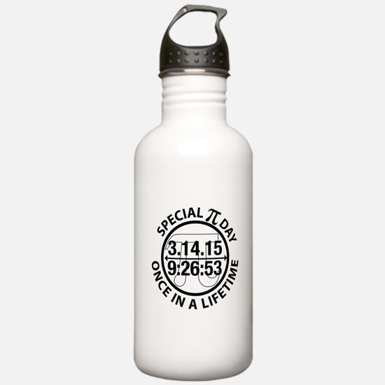 Funny Math symbol Water Bottle