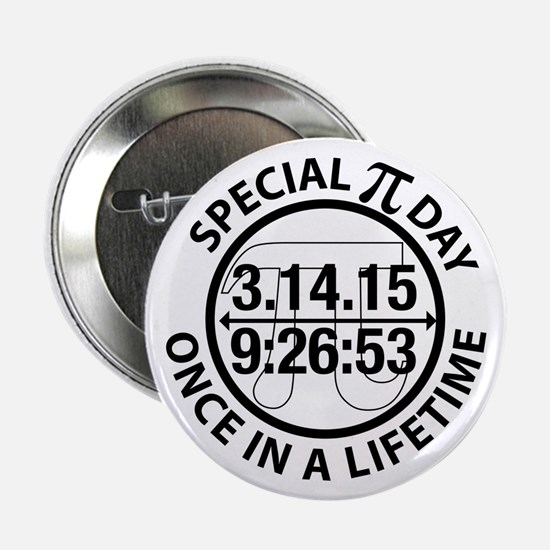 """Cute Pi day 2.25"""" Button (10 pack)"""