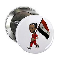 Syria Girl Button