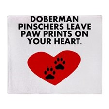 Doberman Pinschers Leave Paw Prints On Your Heart