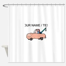 Tow Truck Driver (Custom) Shower Curtain