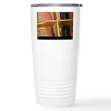 Inside a Piano Travel Coffee Mug