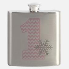 Cute 1st birthday Flask