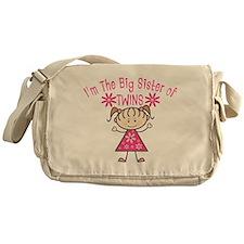 Big Sister of Twins Messenger Bag