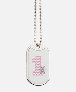 Snowflake 1 Dog Tags