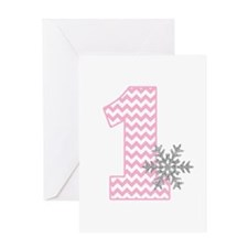Snowflake 1 Greeting Cards