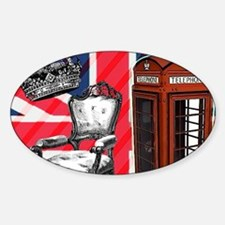 telephone booth london fash Decal