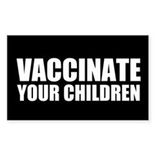 Vaccinate Children Decal