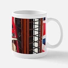 telephone booth london bus Mugs