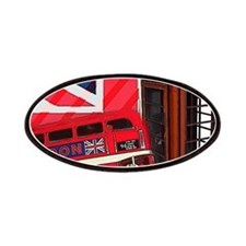 telephone booth london bus Patches