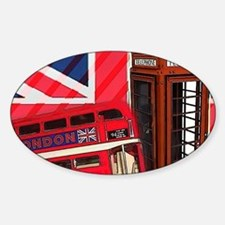 telephone booth london bu Decal