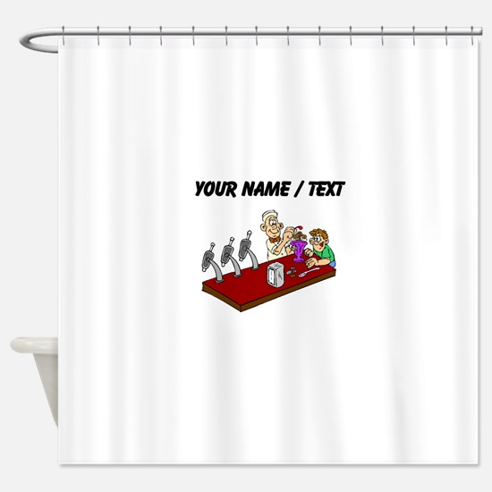 Soda Jerk (Custom) Shower Curtain