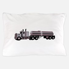 SEMI W/ TANKER Pillow Case
