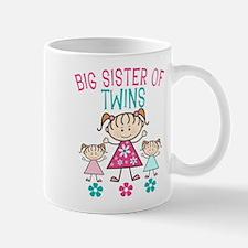 Big Sister of Twins Mugs