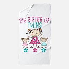 Big Sister Of Twins Beach Towel