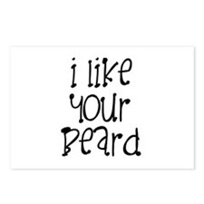 I Like Your Beard Postcards (Package of 8)