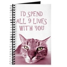I'd Spend All 9 Lives With You Journal