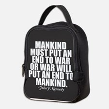 Anti War Neoprene Lunch Bag