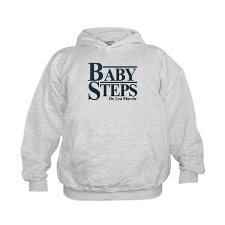 Baby Humor Baby Steps Kids Hoodie