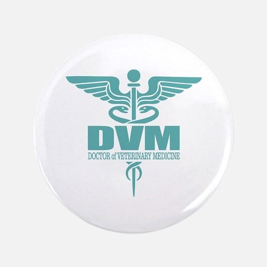 """Caduceus DVM 3.5"""" Button"""