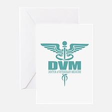 Caduceus DVM Greeting Cards