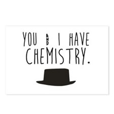 Chemistry Valentine Postcards (Package of 8)