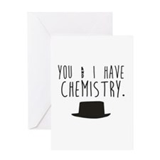 Chemistry Valentine Greeting Cards