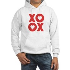 XOXO Hugs and Kisses Valentine's Day Hoodie