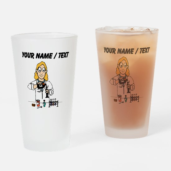 Scientist (Custom) Drinking Glass