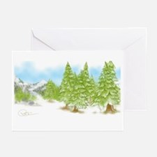 Winter Peace Greeting Cards (pk Of 10)