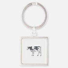 Holstein Cow Keychains