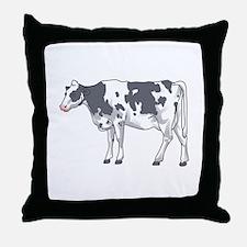 Holstein Cow Throw Pillow